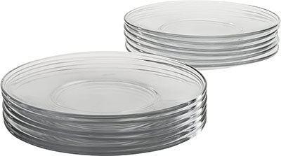 Anchor Hocking 8-Inch Presence Glass Salad Plate
