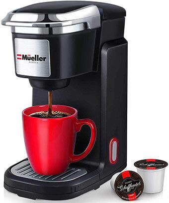 Mueller Single Serve Pod Compatible Coffee Maker Machine