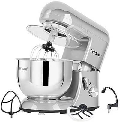 CHEFTRONIC Kitchen Stand Mixer Tilt-head Mixer
