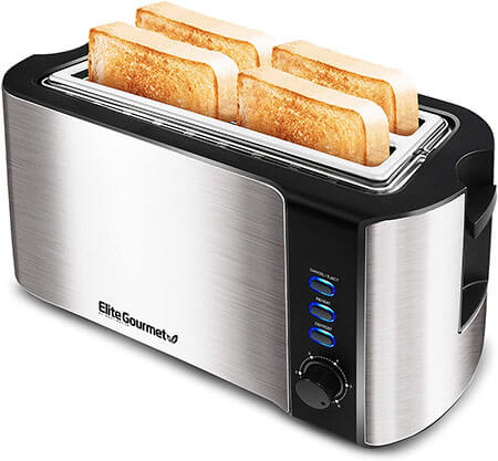 Elite Gourmet ECT-3100 Long, Toaster