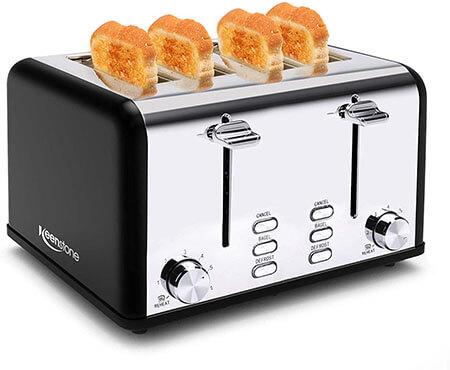 Keenstone 4 Slice Toaster