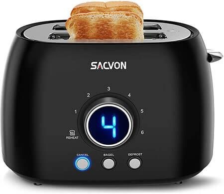 SACVON Stainless Steel Bagel Toaster