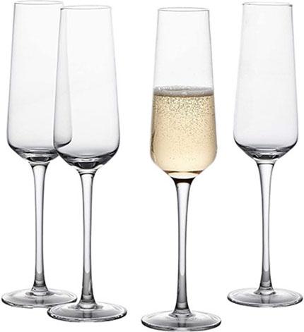 GoodGlassware Champagne Flutes