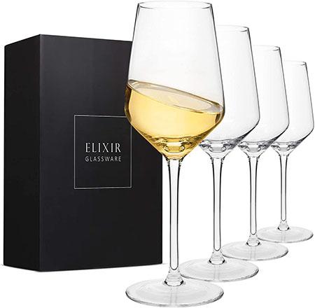 Elixir Crystal Wine Glasses