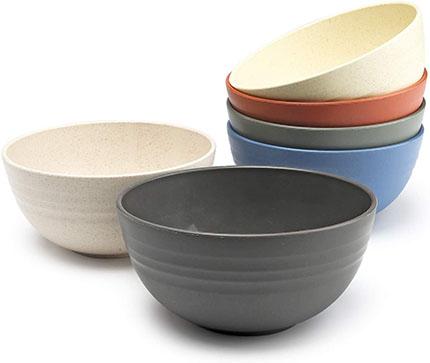 Generi Unbreakable-reusable Soup Bowls