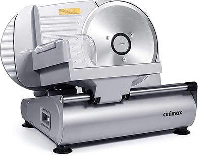 CUSIMAX 200W Electric Deli Food Slicer