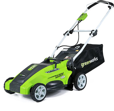 """Greenworks 10A 16"""" Corded Mower"""