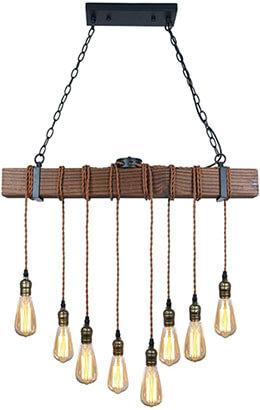 Unitary Brand Multi-Pendant Light with 8 E26 Sockets