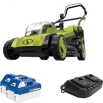 Sun Joe 24V-X2-17LM 48-Volt 17-Inch Lawn Mower