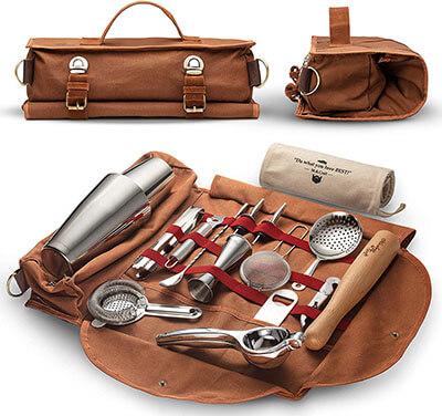 Mixology Travel Bartender Kit Bag