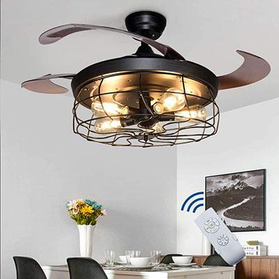 "DLLT Ceiling Fan with Lights-42"""