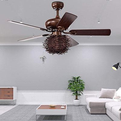 """Wolland 48"""" Industrial Ceiling Fan"""