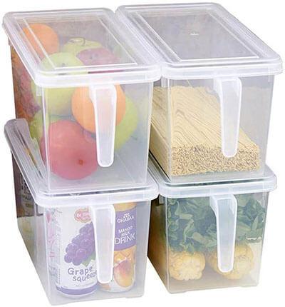 MineDecor Plastic Storage Containers