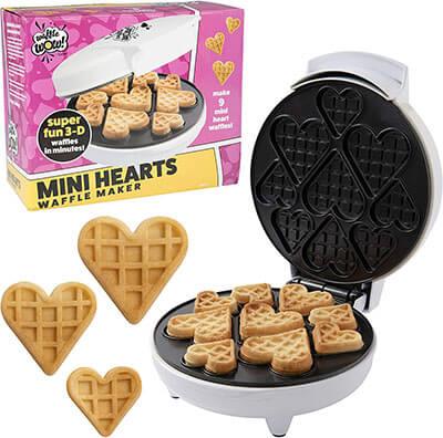 Mini Hearts Waffle Maker